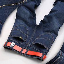 SULEE HOT SALE fashion cotton straight Thin models in Europe and America men's jeans classic newdenim jeans young long jeans men