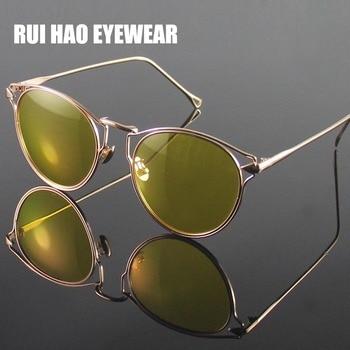 04f263e6c0 Gafas de noche amarillo polarizado gafas de sol de las mujeres gafas de  visión nocturna para amarillo luz lente gafas de sol de conducir