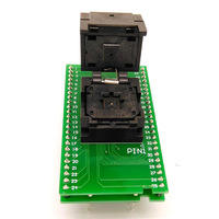 QFN48 MLF48 Programming Socket IC Test Adapter Pitch 0.4mm Clamshell Chip Size 6*6 Flash Adapter Burn in Socket