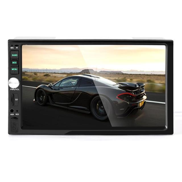Nova Chegada Do Bluetooth Receptor de Áudio Estéreo Do Carro In-Dash Entrada Aux SD/USB Jogador MP5 dr27