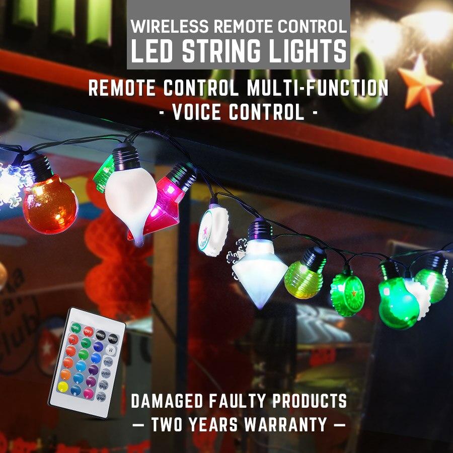 Lights & Lighting Led String Light 6.5m 30leds Colorful Lamp String Ac100-240v/dc5v Usb/plug 7 Colours Holiday Decoration Plastic Led Light String