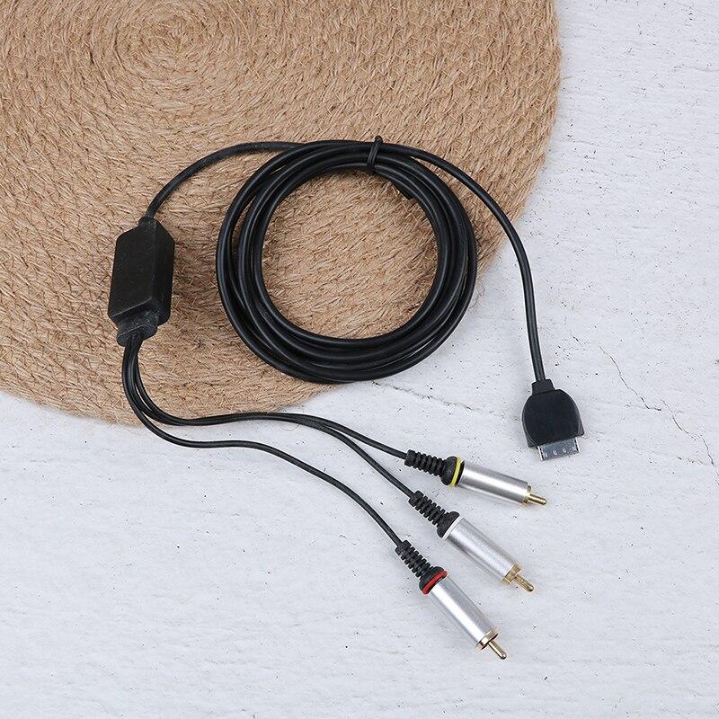 1 Pc 2,5 M Für Psp Go Und Psp-1000 Av Kabel Spiel Konsole Av Audio Video Component Kabel Für Sony Psp Einfach Zu Schmieren