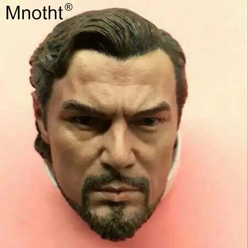 Mnotht Leonardo 1/6 Head Sculpt Model Django Unchained Male Soldier Head Carving Model Toys Collections Action Figures m3 immortal unchained