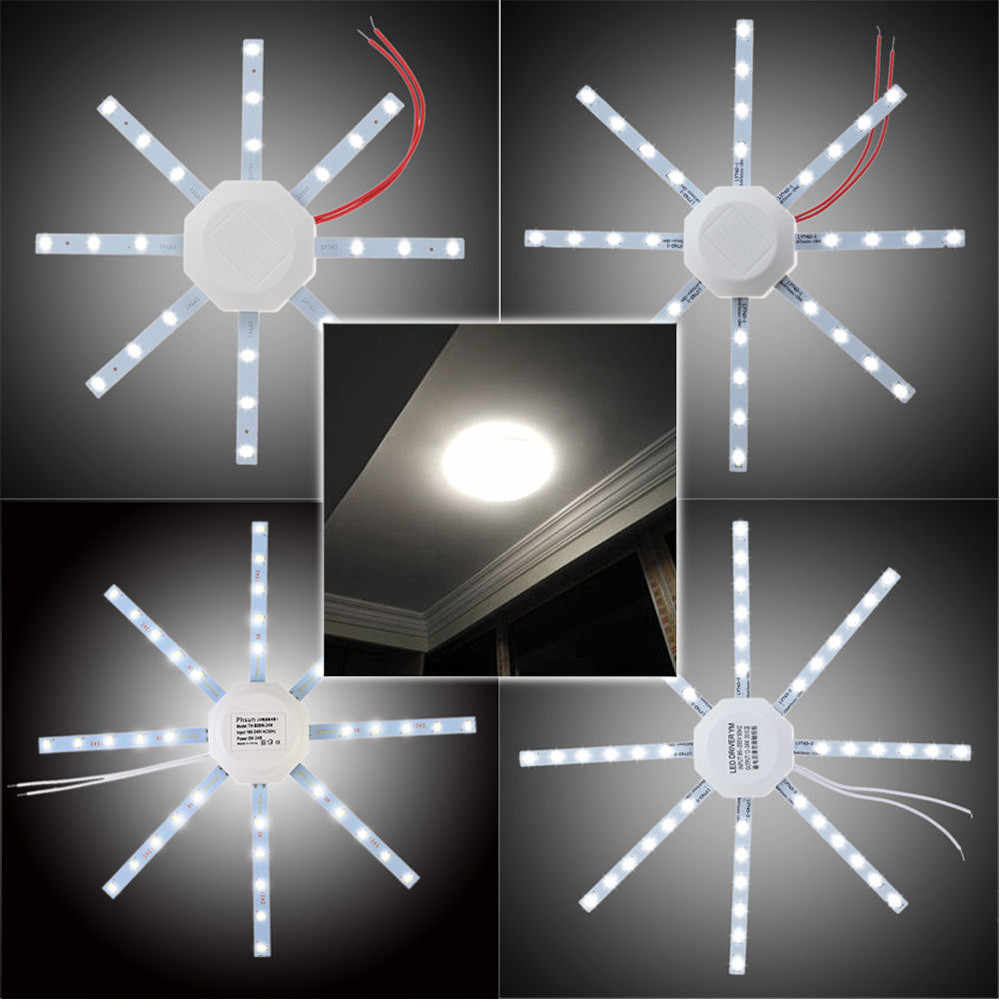 LED Panel Downlight 12/16/20/24W Round 5730SMD Bedroom Living Room Ceiling Panel Down Lights Bulb Lamp White 220V#w