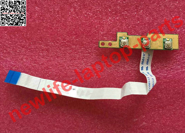 ФОТО original for laptop 3550 Media Buttons Board w Cable 50.4IF03.201 test good free shipping