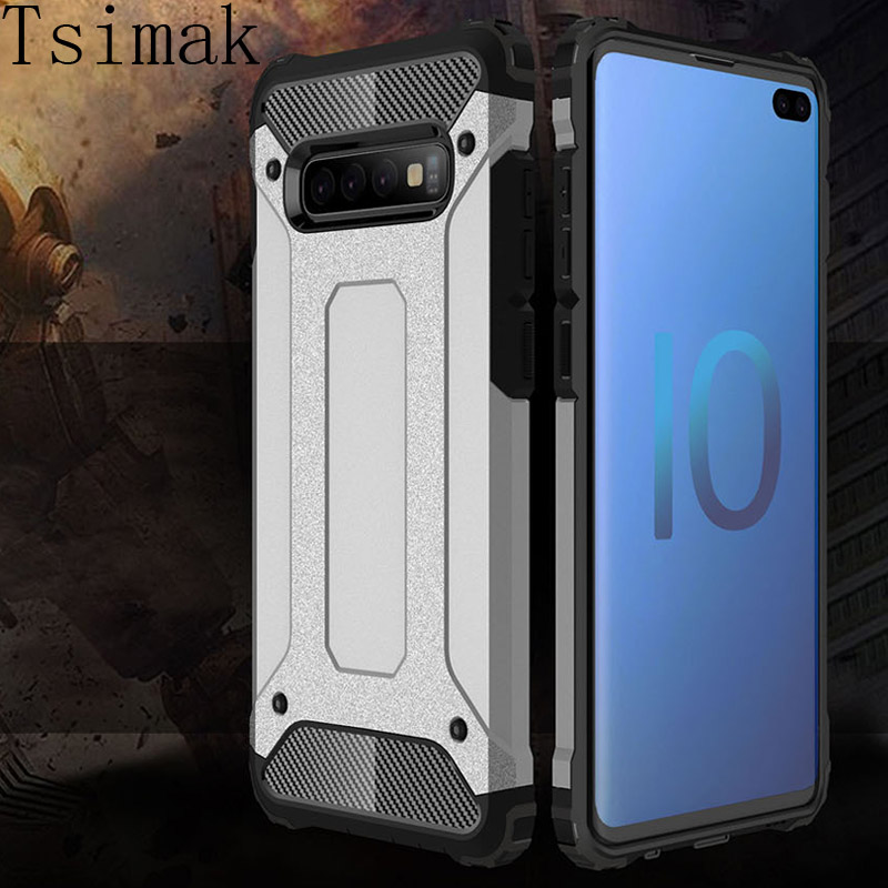 Coque Case For Samsung Galaxy J2 Core J4 Prime J6 S9 S10 Plus A6 A7 A8 A9 A6s A9s 2018 J3 J5 J7 Pro 2017 Armor Phone Back Cover image