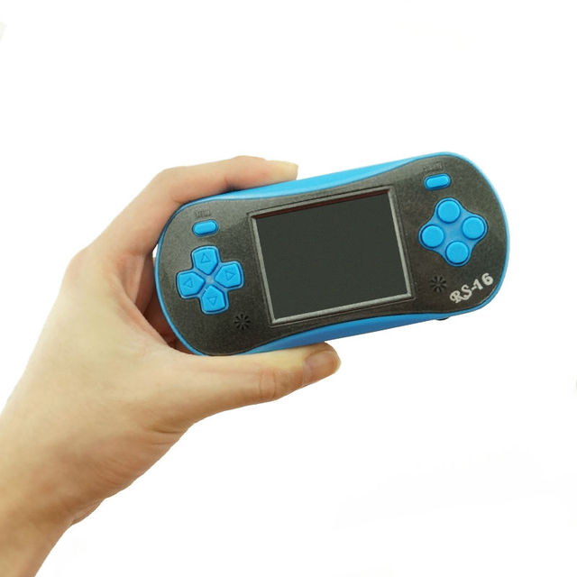 New Childhood 2.5 Inch 16 Bit Video Game Player Handheld Game Console Built In 260 Classic Games Portable Player Support TV-OUT