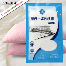 LDAJMW 5 Packs Portable Healthy pillowcase Non-woven Disposable Pillow Cover For Travel Beauty Salon Hotel