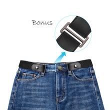 2019 Buckle-Free Belt Elastic Buckle Free Women's Plus Belts No Buckle Stretch Belt  for Jeans Pants Dresses
