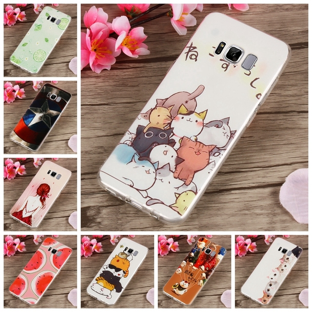 samsung s8 plus phone case cat