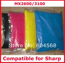 High quality color toner powder compatible for Sharp mx2600/3100 Free shipping