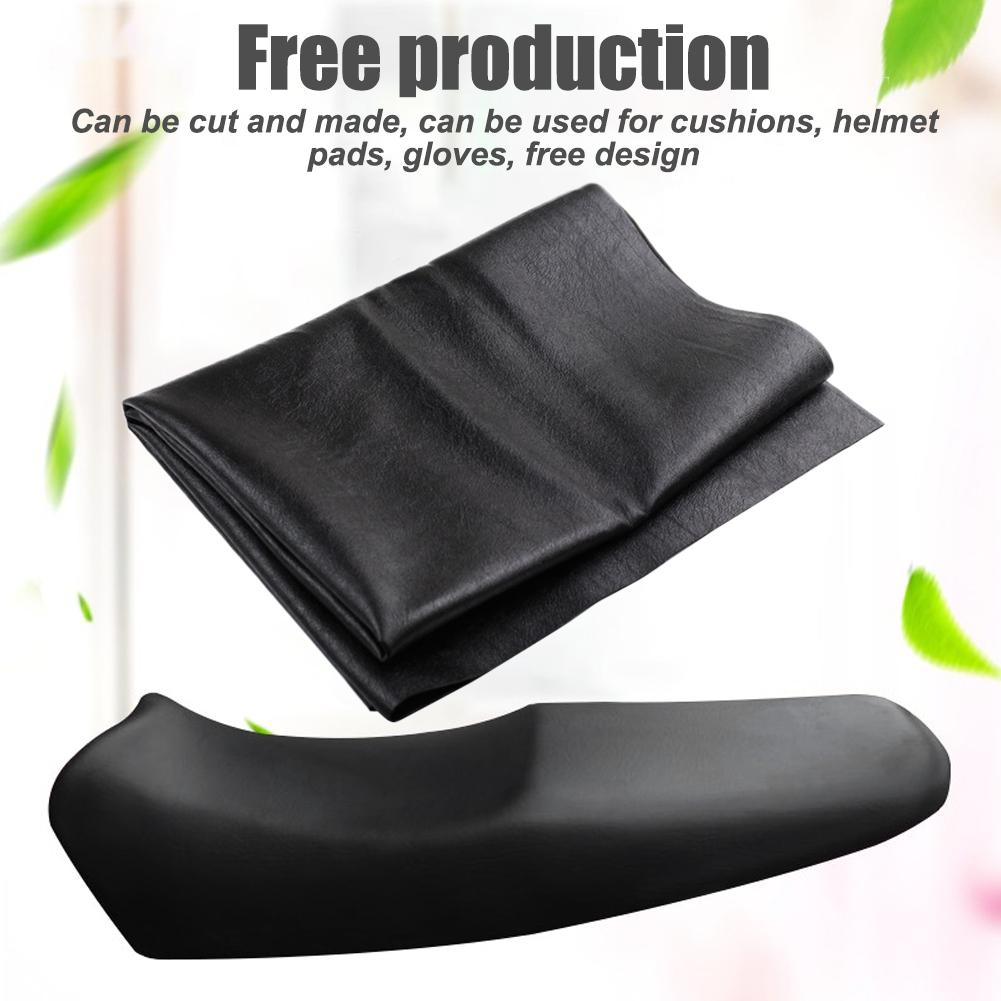 Motorcycle Seat Cover Wear-Resistant Universal Motorcycle Scooter ATV Leather Seat Cover Protector Motorcycle Accessories(China)