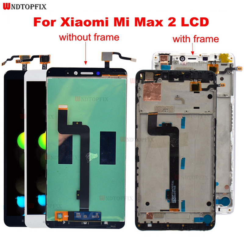 Xiao mi mi MAX 2 LCD Display Touch Screen Digitizer Montage MAX2 Ersatz Teile Für 6,44