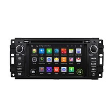 Quad Core Two Din 6.2 Inch Android 5.1.1 A9 Car DVD Player For JEEP/COMMANDER/WRANGLER With Wifi 3G USB GPS BT TV Radio Free Map