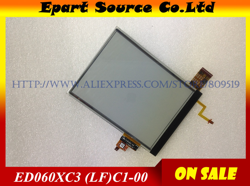 Free shippingink e book LCD screen E ink reader replacement display ED060XC3 LF C1 00 ED060XC3