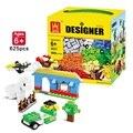 Envío gratis 3 Diferentes Modelos 625 Unids Building Blocks Mini Figura DIY Bricks Autoblocante Aprender Educación Mejores Herramientas para Los Niños