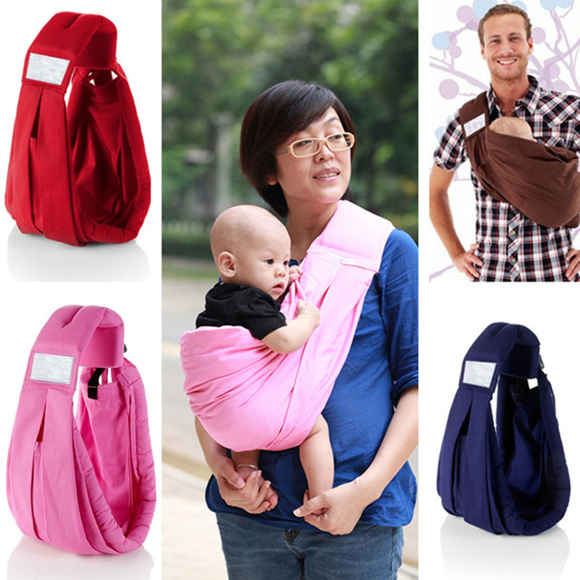 New Hot 2017 Hot Adjustable Breathable Newborn Body Infant Toddler Carrier Wrap Slings 100% Top Good