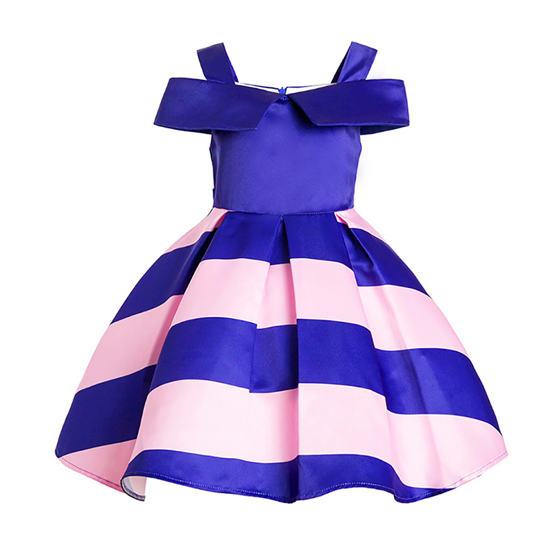 Butterfly Printing Dress Flower Printing Girl Dress 2018 New Girls Birthday Wedding Party Princess Dresses Kids Children Clothes christmas holiday flower girl dress butterfly princess children dresses for party wedding birthday gift