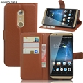 MicroData Luxury PU Leather Flip Case For ZTE Axon 7 5.5 inch Wallet Stand Leather Case Cover On Axon 7 5.5 inch