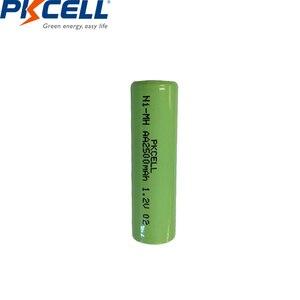 Image 4 - 12個ニッケル水素単三充電式バッテリー1.2v 2500mah indurstryパックフラットトップ、非pcm、