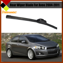 Buildreamen2 Car Soft Rubber Frameless Wiper Blade Rear Windscreen Windshield For Chevrolet Aveo 2004-2011