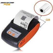 ISSYZONEPOS 58 мм Bluetooth термальность принтер мини портативный беспроводной чековый принтер Android iOS карман розничный магазин Mall Бесплатная SDK