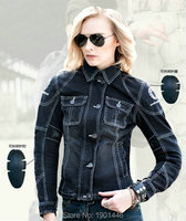 uglyBROS UBJ04 denim classical nostalgic retrol female motorcycle daily riding jacket women knight protective body armor jacket
