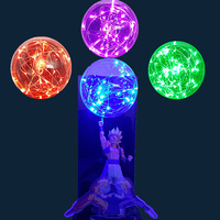 Dragon Ball Lamp Gogeta Led Night Lights Bulb Lampara Dragon Ball Z Table Lamp Super Saiyan DBZ For Christmas
