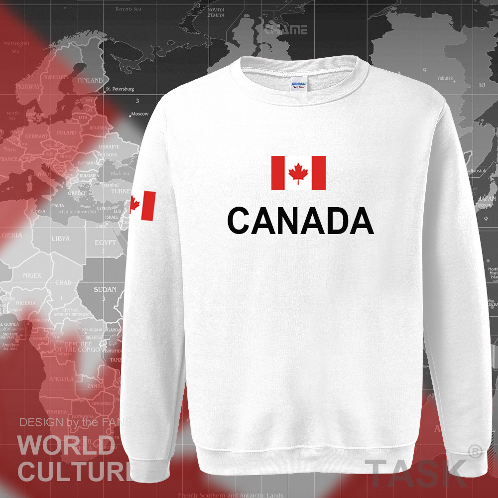 Canada 17 hoodies men sweatshirt sweat new streetwear clothing jerseys footballer tracksuit nation Canadians flag fleece CA 5