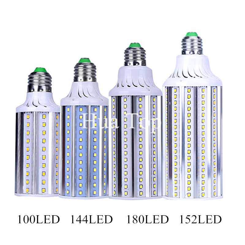 Lampada 30W 40W 60W 80W LED Lamp E27 E40 AC110V 220V SMD2835 Corn Bulb Pendant Lighting Chandelier Ceiling Aluminum Spot light free shipping aluminum corn light 30w 360 degree smd2835 led bulb lamp high quality 30w corn light e27 e40 available
