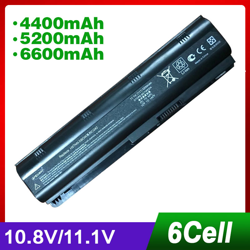 11.1 V Batterie Pour HP Pavilion DM4 DM4T DV3 DV7 G4 G6 G7 G62 G62T G72 MU06 HSTNN-UBOW pour Sociétés presario CQ42 CQ56 CQ62