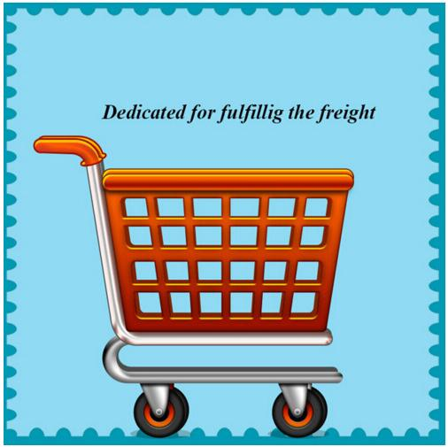 Dedicated for fulfilling the freight