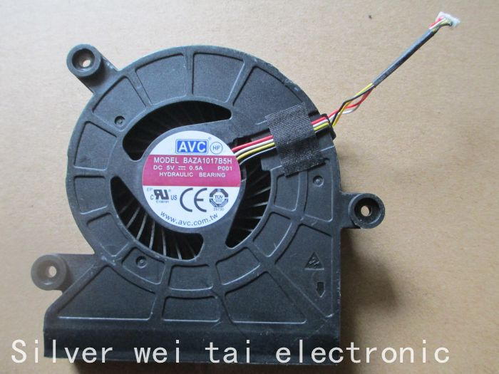 Laptop CPU cooling fan for All-in-one Desktop Blower Fan DC5V 0.5A AVC BAZA1017B5H 4 Wire Cooling Fa kambrook avc sa all