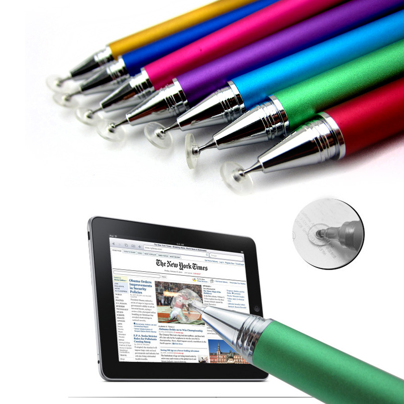 Jot Pro Fine Point Hoge precisie Capacitieve Touch Stylus Pen voor iPad Galaxy Kindle Fire HDX tablet PC 50 stks/partij-in Balpennen van Kantoor & schoolbenodigdheden op  Groep 1