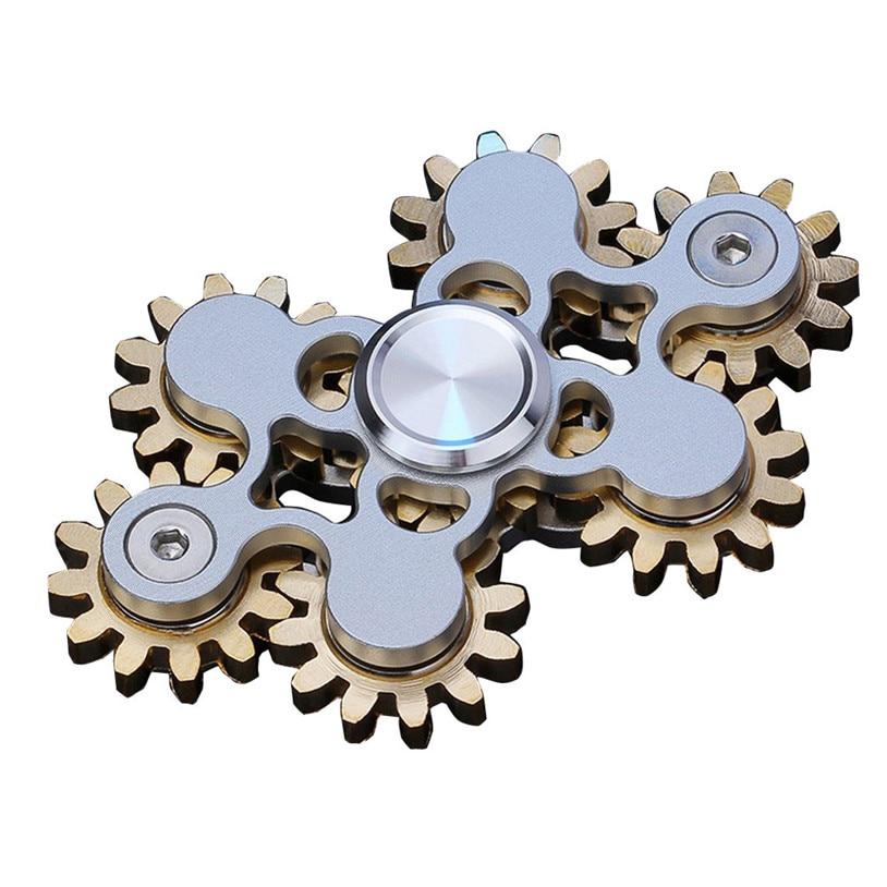 2107 New Finger Spinner Tri Spinner Fidget Hand Spinner Camouflage Multi Color EDC Focus Toys For