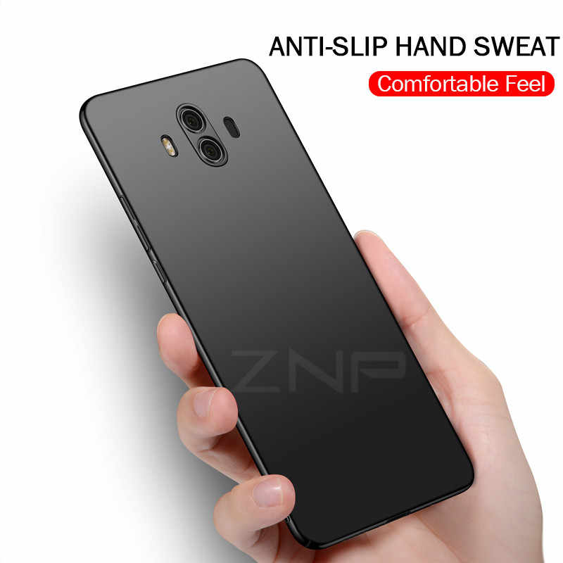 ZNP Luxury Slim Protection Case For Huawei Mate 10 Lite Mate 10 Pro Hard PC Phone Cover For Huawei Honor 9i Nova 2i Case Shell