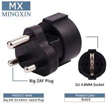 SA FÜR DIE EU Südafrika Männlichen zu Weiblichen Europa AC Adapter Südafrika Industrielle Elektrische Stecker 3 Power Pin stecker 15A 250 V