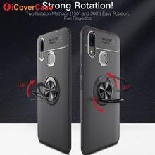 Магнитное кольцо чехол для huawei Honor V10 V9 7X 8X играть Примечание 10 Случаи Силиконовый чехол автомобильный держатель для Nova 3i 3 2 S Телефон Аксессуары