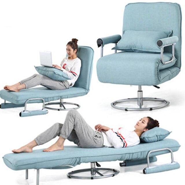 Multifunzione sedia da Ufficio Pisolino pieghevole Chaise Lounge ...