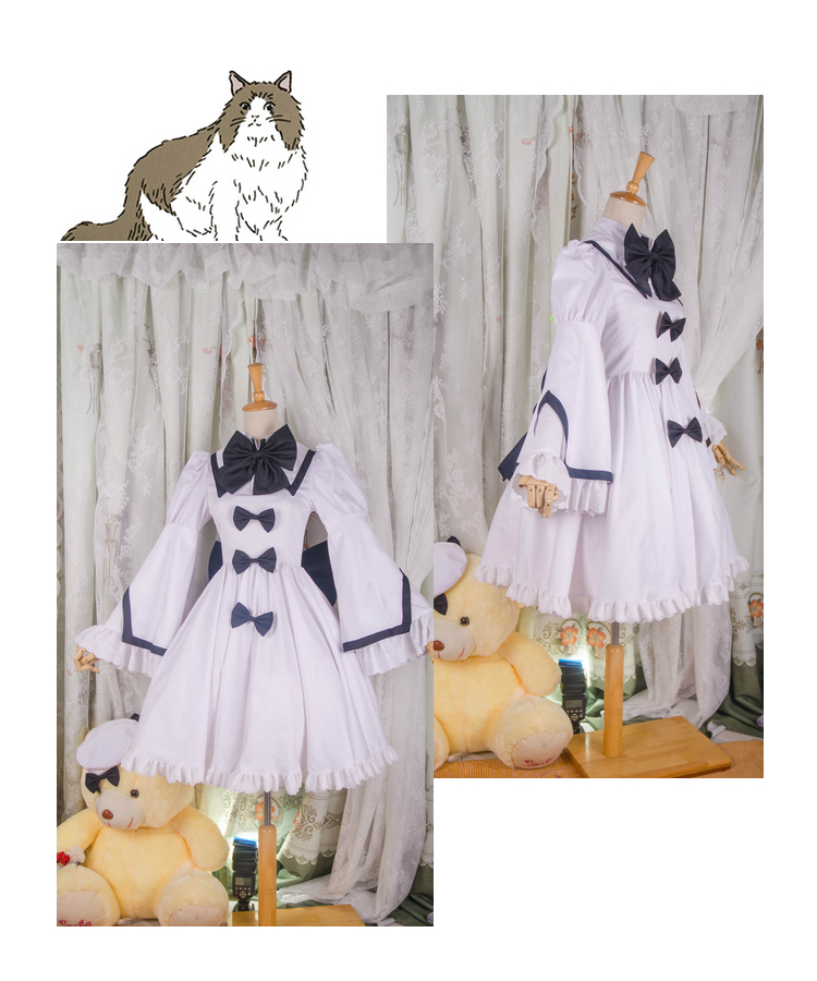 [Customized] Anime Touhou Project Touhou Sangetsusei Lolita Dress Uniform Cosplay Costume Any Size Women Halloween Freeshipping image