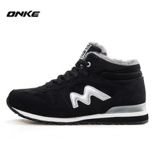 Winter sneakers sports trainers thermal men