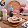 free shipping squeeze salad salad dressing jar ketchup sauce bottles leakproof oiler cruet dispenser for sauce vinegar