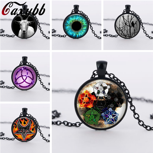 5 pcs stars wicca pendant necklace charms wiccan jewelry 5 pcs stars wicca pendant necklace charms wiccan jewelry personality pentagram glass occult necklaces pendants ftc aloadofball Choice Image