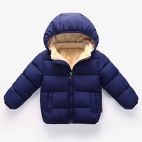 Autumn Winter Children Boys Coat 2018 New Thick Velvet Jacket Kids Baby Clothes Warm Boys Clothing Outwear
