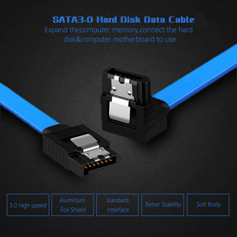 Sata ケーブル 3.0 にハードディスク ssd アダプタ hdd ケーブルストレート 90 度の sata 3.0 ケーブル asus msi ギガバイトマザーボードケーブル sata