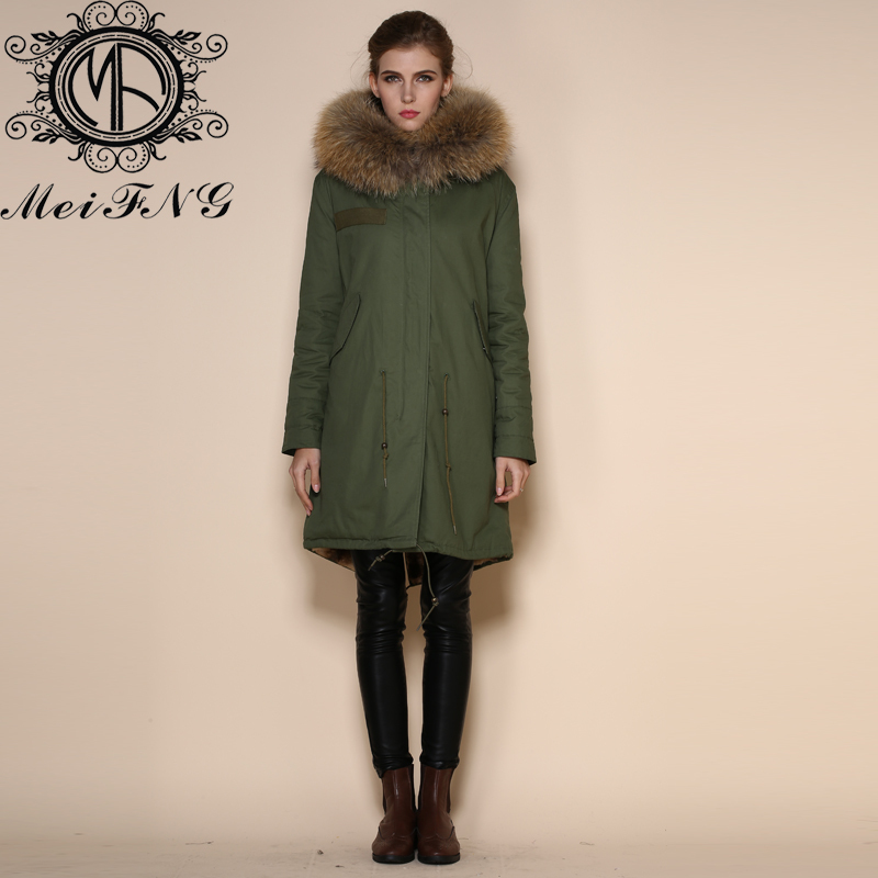 Aliexpress.com : Buy New Womens Fur Oversized Hood Parka Ladies
