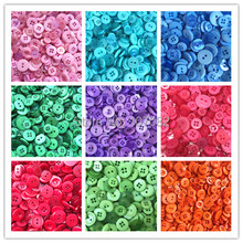 hot deal buy 1000pcs assorted mixed resin buttons arts crafts card making scrapbooking sewing 9mm-20mm