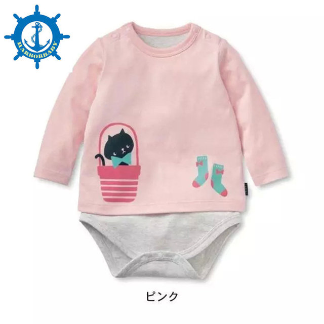 Baby Romper Long Sleeve Cute Clothes Baby Girl One Pieces Jumpsuits Roupas De Bebe Infantil Baby Clothing 1pcs HB013