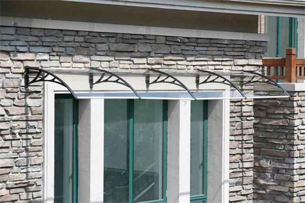 YP 100480-ALU 100x480 cm de profundidade de 1000mm, largura 4800mm, suporte de alumínio frete grátis toldo da porta, bloco de sol folha de bronze porta toldo