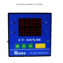 Nueva Inteligente Instrumento de Monitoreo On-line Medidor de PH pH Industrial Controlador de PH Con CT1001C CT-6659E Sensor de PH Y 10 M Cable
